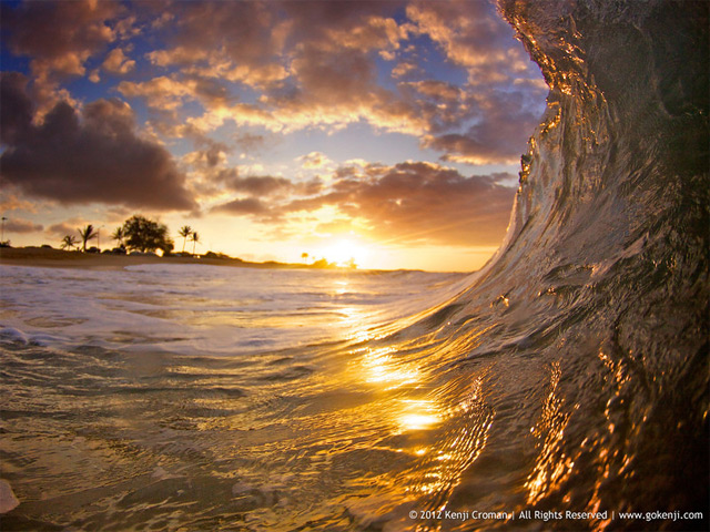 Wave Photographs by Kenji Croman waves water ocean