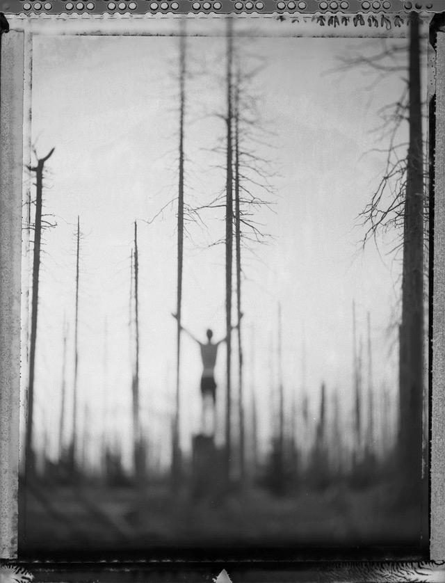 The Mysterious Polaroids of Bastian Kalous polaroid landscapes