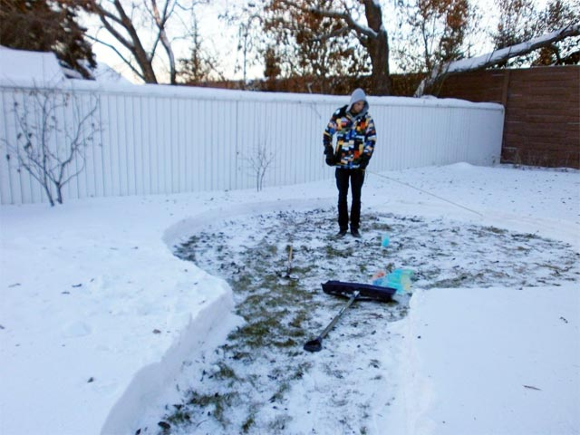 How to Build a Rainbow Igloo winter snow rainbows igloos ice architecture