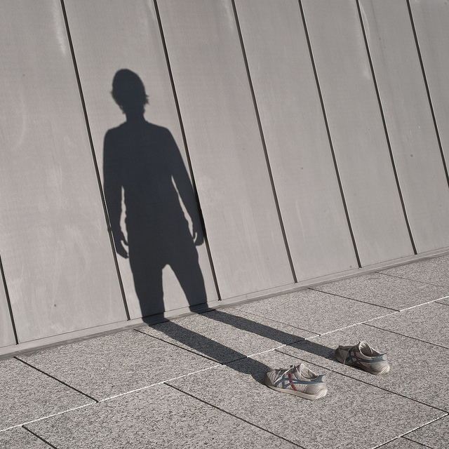 Im Not There: A Photographer Captures his own Shadow portraits