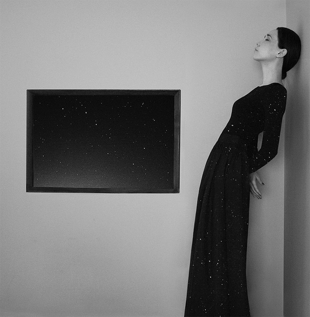 Surreal Self Portraits by 22 Year Old Artist Noell S. Oszvald who Began Photographing and Editing a Year Ago surreal portraits conceptual black and white