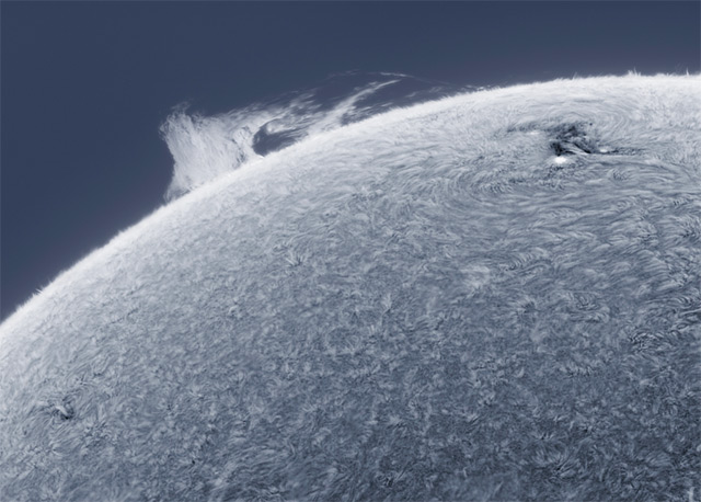 Alan Friedmans Astonishing HD Photographs of the Sun Shot from his Own Backyard sun science astronomy
