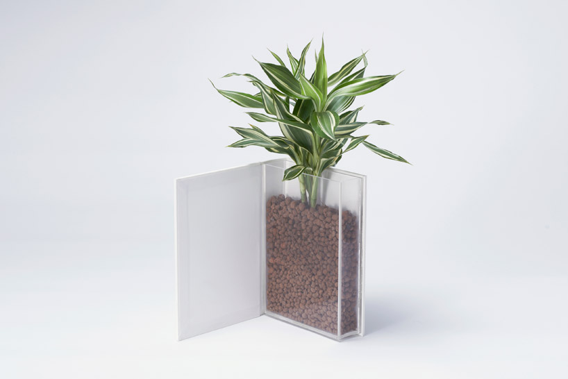 The Book Vase by YOY plants books