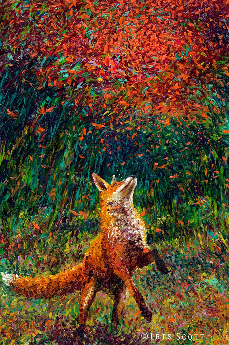 Oil Finger Paintings by Iris Scott  Colossal