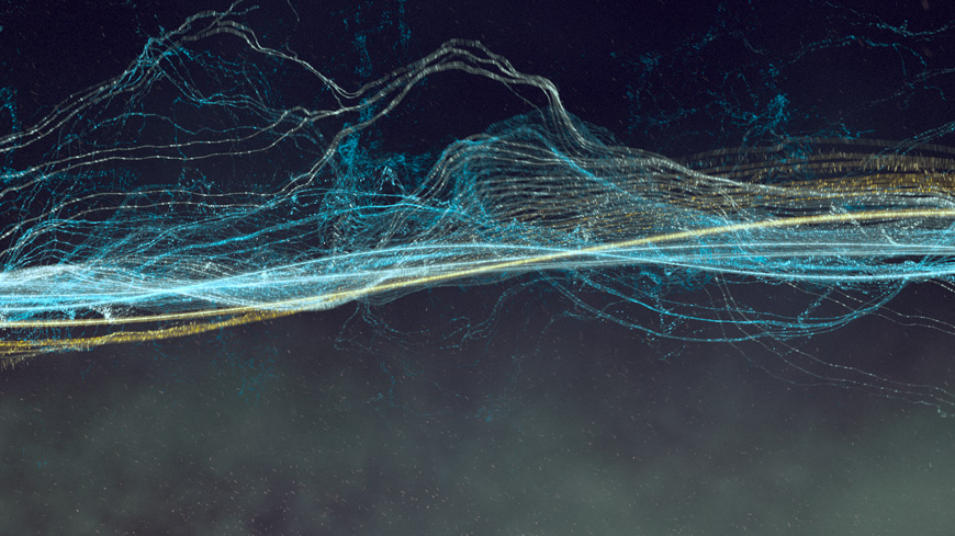 Oscillate is a Mesmerizing Animated Short of Sine Waves by Daniel Sierra video art animation