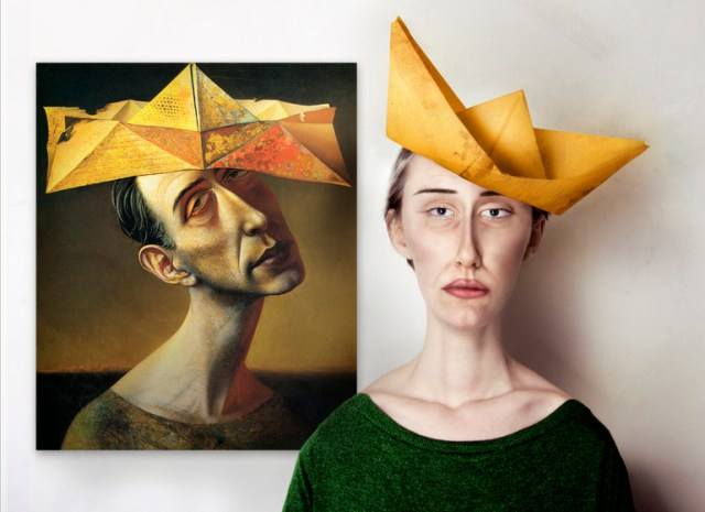 Photographer Imagines What the Models of Abstract Paintings Looked Like painting humor art history