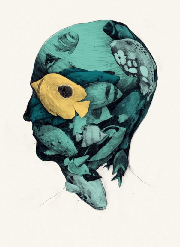Fantastic Imagination Of Illustrator Sim Prades Colossal