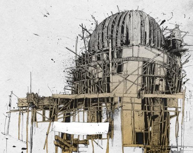 The Fantastic Imagination of Illustrator Simón Prades illustration drawing
