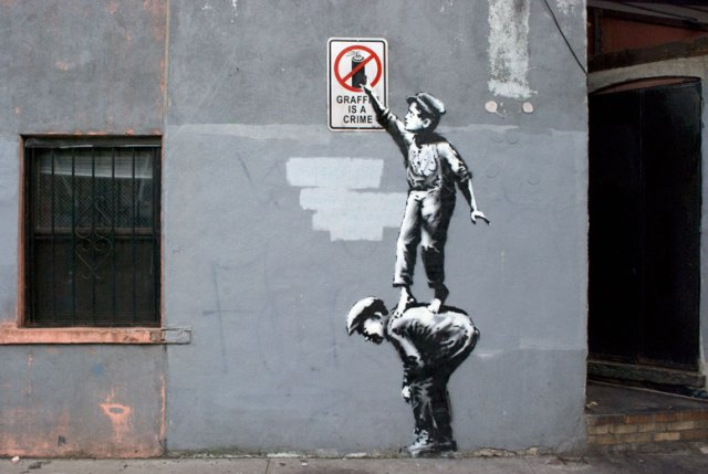 Better Out Than In: Banksy to Descend on NYC for an Outdoor Residency in October street art New York