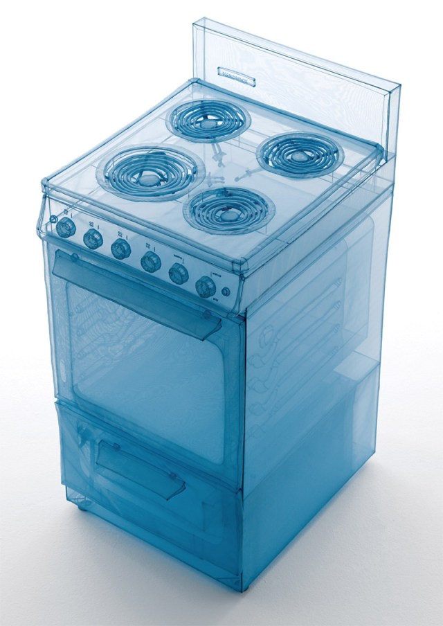 Artist Do Ho Suh Sculpts Appliances from his Manhattan Apartment out of Polyester textiles sculpture polyester