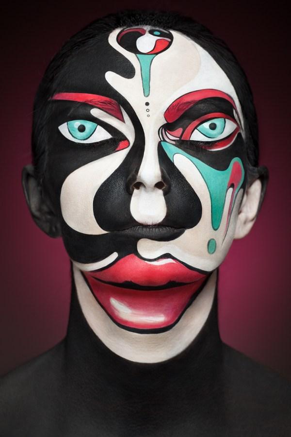 Alexander Khokhlov Face Painting