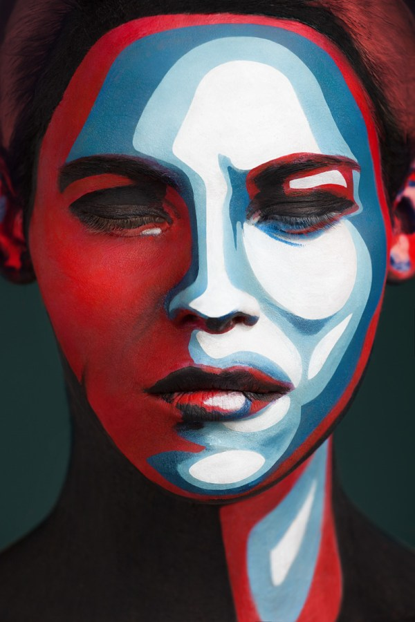 Faces Of Models Transformed 2d With Face Paint Colossal