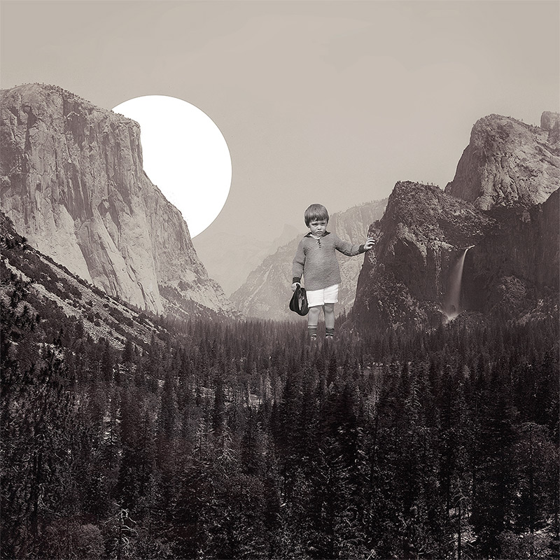 The Surreal Collages of Joseba Elorza surreal illustration digital collage
