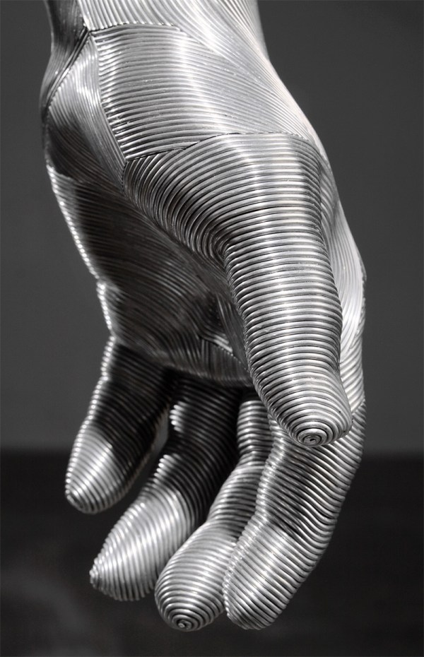 Meticulously Wrapped Aluminum Wire Sculptures Seung Mo