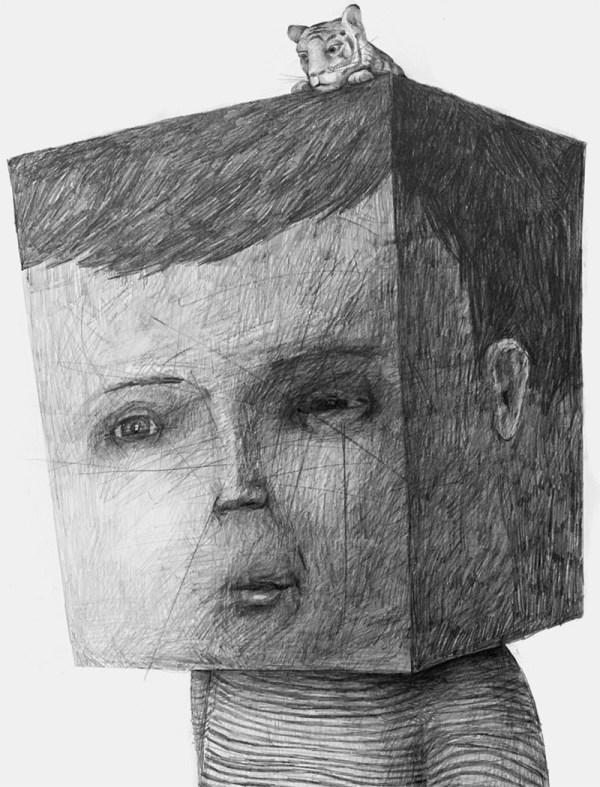 Headsongs Graphite Portraits Morph Landscapes Colossal