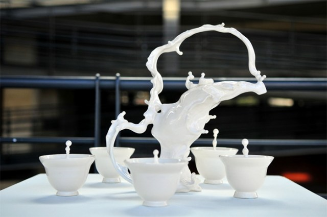 Living Clay: Artist Johnson Tsang Brings Ceramic Bowls and Cups to Life sculpture ceramics anthropomorphic