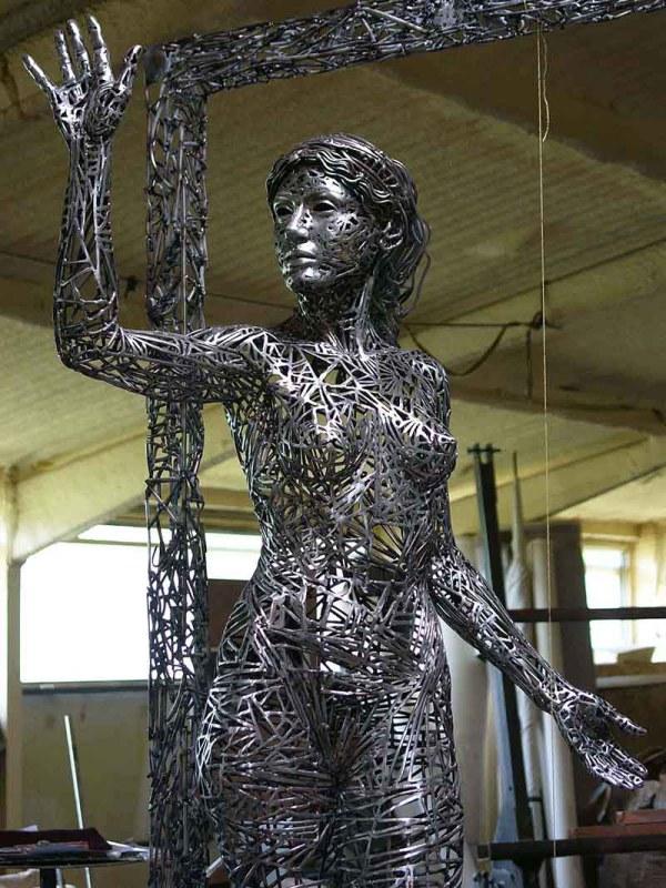 Welded Metal Art Sculptures
