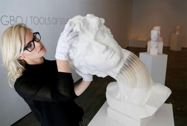 New Flexible Paper Sculptures by Li Hongbo sculpture paper