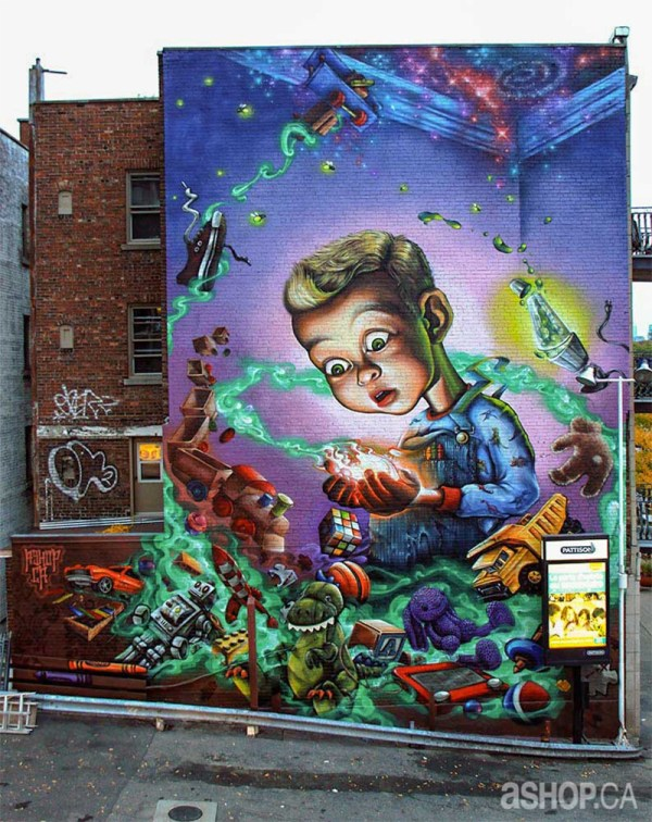 Graffiti Mural Street Art