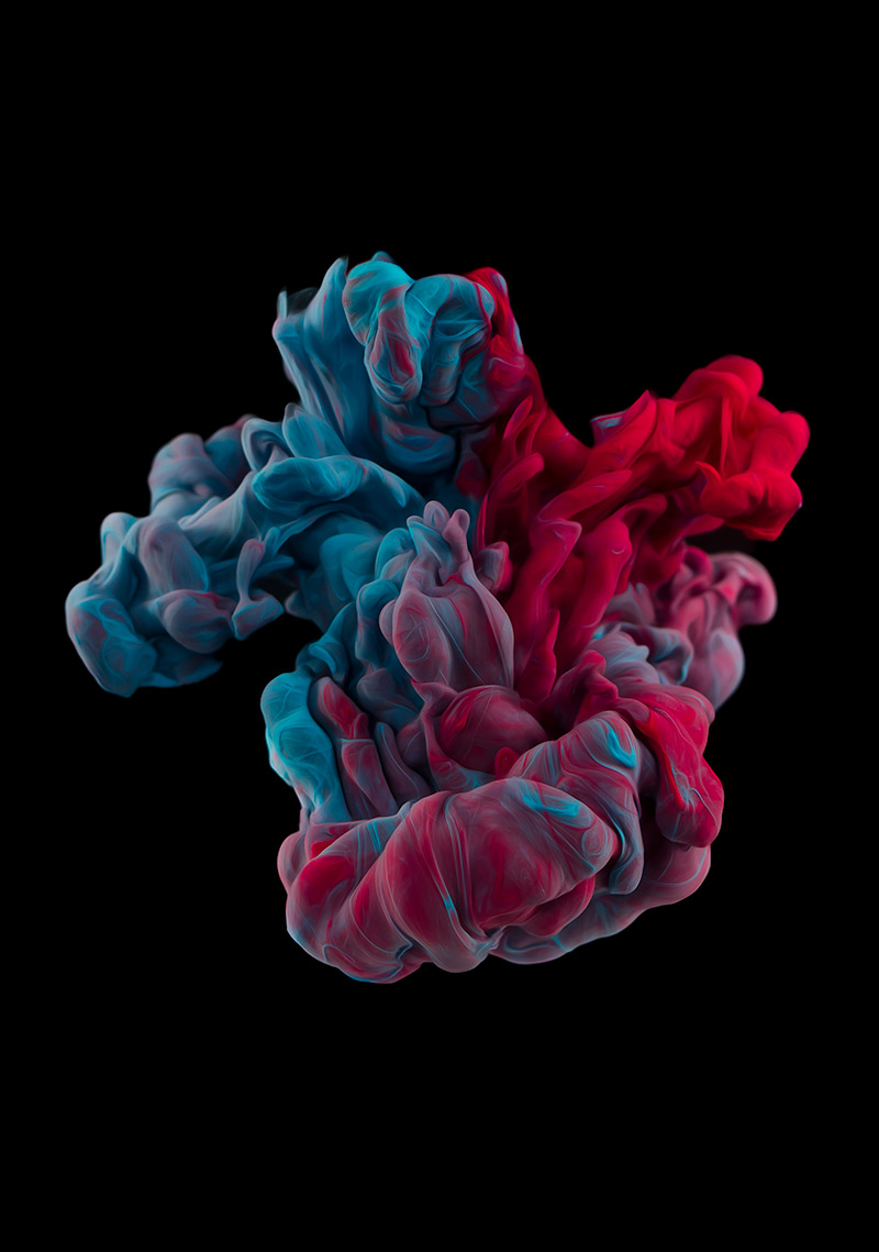 New Underwater Ink Plumes Photographed by Alberto Seveso water ink high speed