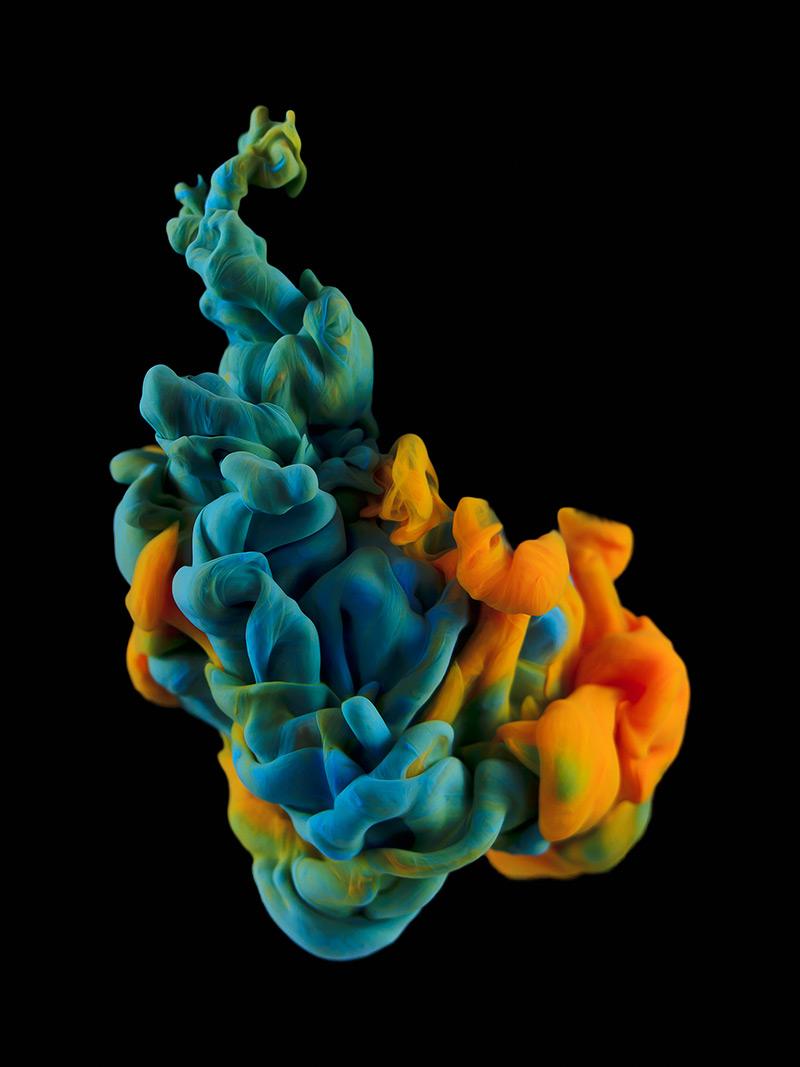 New Underwater Ink Plumes Photographed by Alberto Seveso water ink high speed