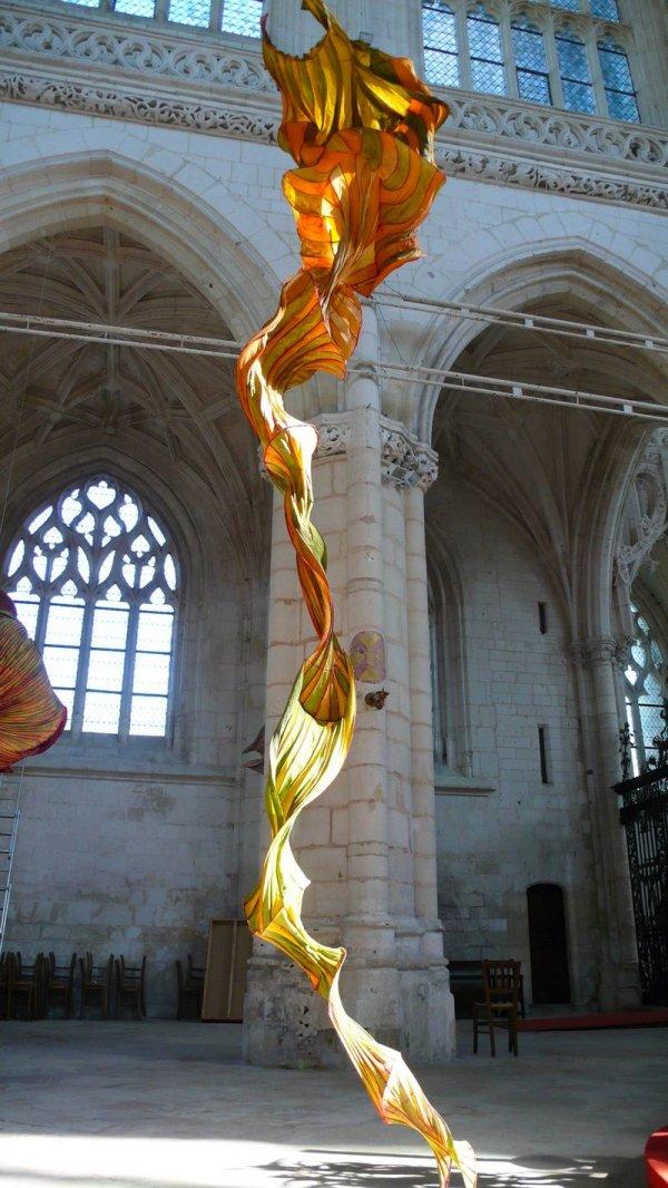 Suspended Sculpture Art