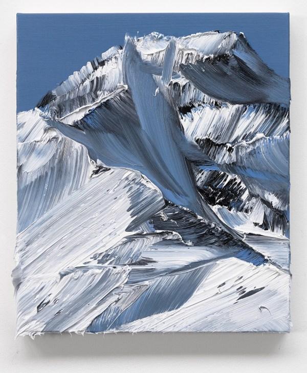 Conrad Jon Godly Mountain Paintings Drip Canvas