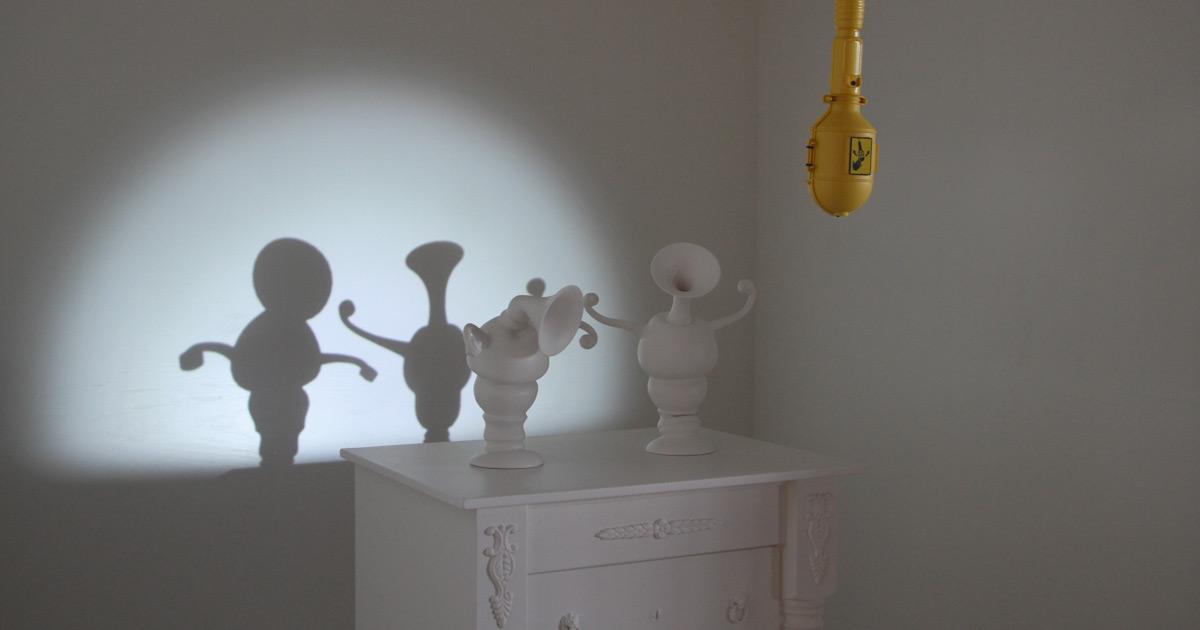 Dancing Shadow Sculptures by Dpt and Laurent Craste