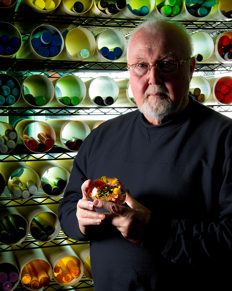 Beauty Beyond Nature Stunning Artistic Glass Paperweights