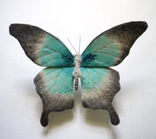 Textile Moth And Butterfly Sculptures Yumi Okita Colossal