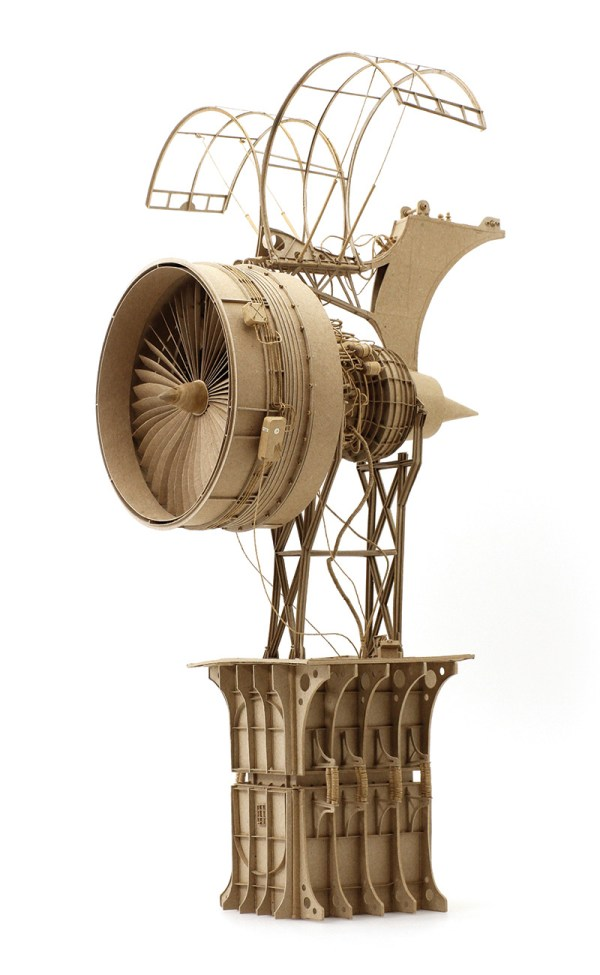 Cardboard Steampunk Flying Machine