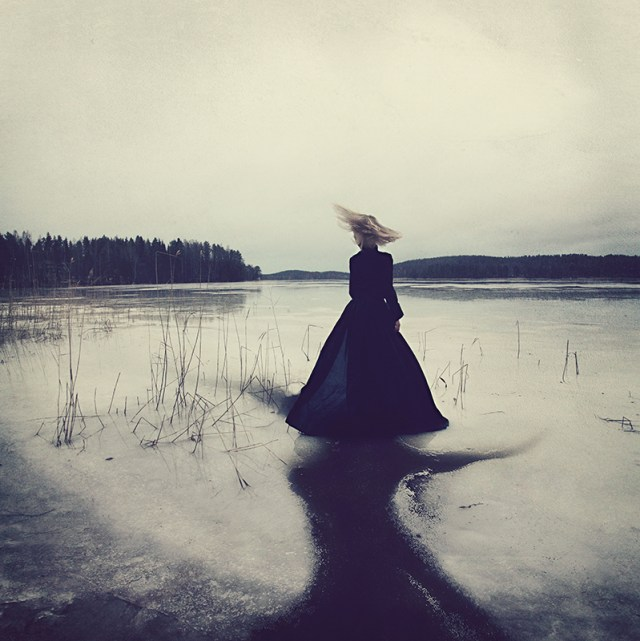 Dreamlike Conceptual Self Portraits Fused with Dance by Kylli Sparre surreal self portait conceptual