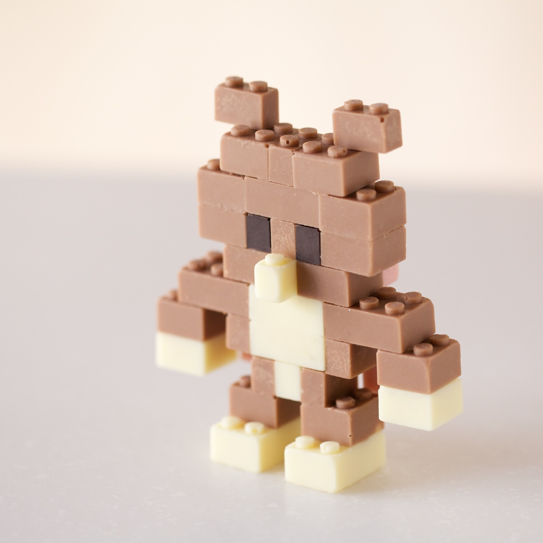 Edible Chocolate LEGOs by Akihiro Mizuuchi Lego food chocolate