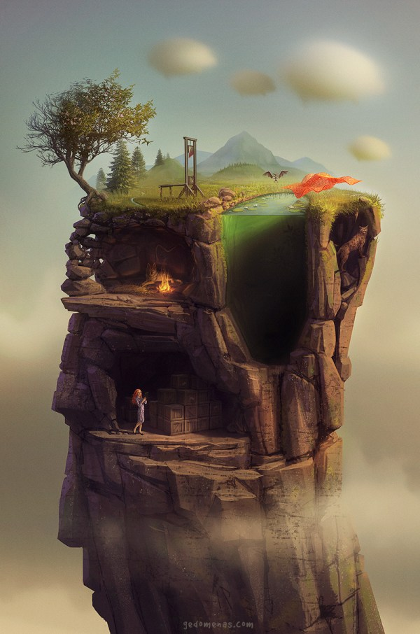 Beautiful Digital Surreal Art