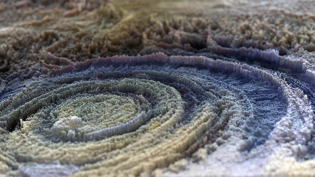 Beautiful 3D Topographies Rendered by Lee Griggs Look Like Weather Patterns and Ocean Floors maps digital