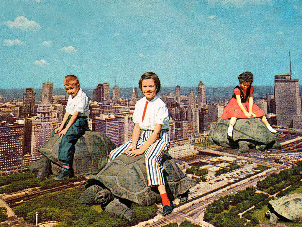 Surreal Collages by Eugenia Loli vintage surreal collage