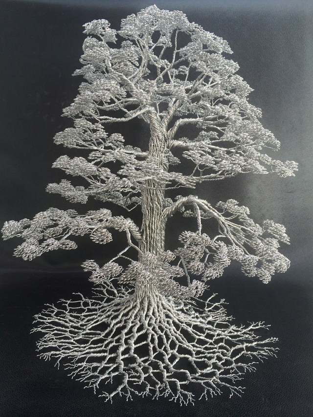 Wire Sculptures by Clive Maddison
