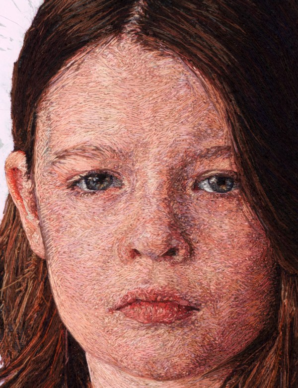 Thread Painting Portraits