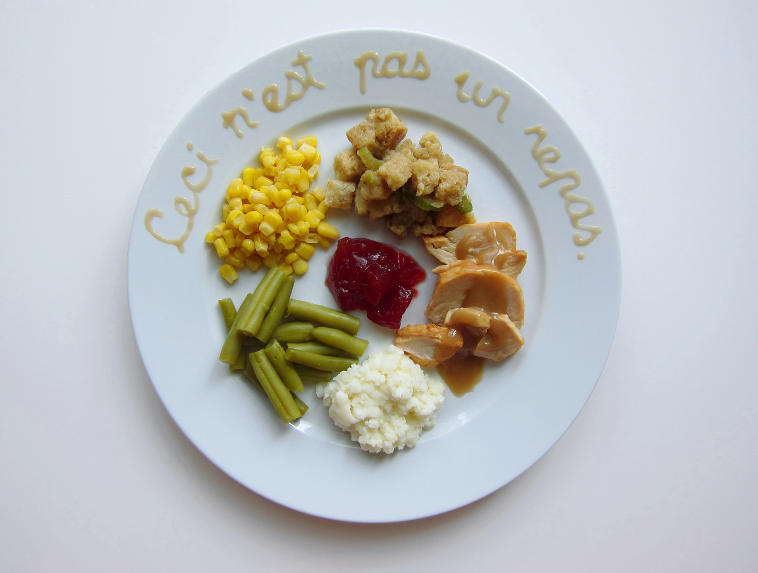 Thanksgiving Special: How 10 Famous Artists Would Plate Thanksgiving Dinner Thanksgiving humor