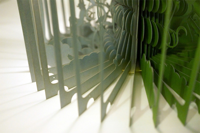 360° Laser-Cut Paper Story Books by Yusuke Oono (2/6)