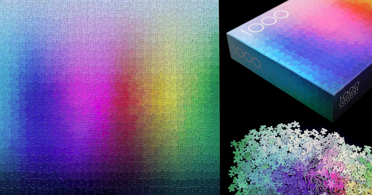 Image result for 1000 color puzzle