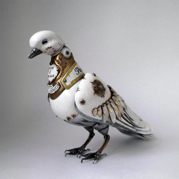 Metal Animal Sculptures Steampunk