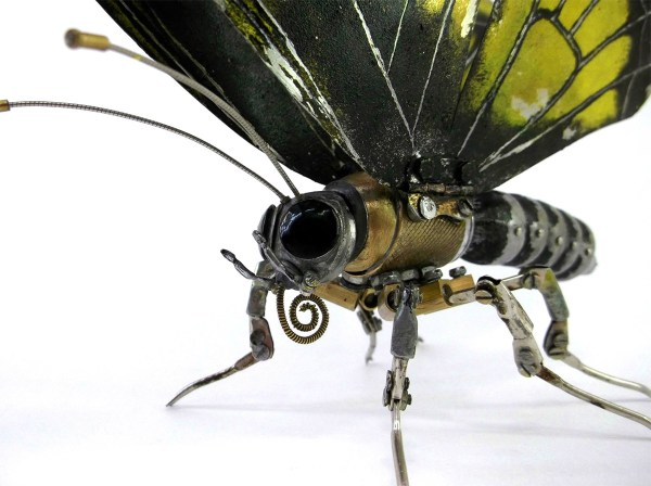 Steampunk Animal And Insect Sculptures Igor Verniy