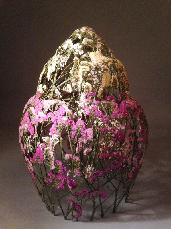 Delicate Vessels Sculpted With Pressed Flowers Ignacio Canales Aracil Colossal