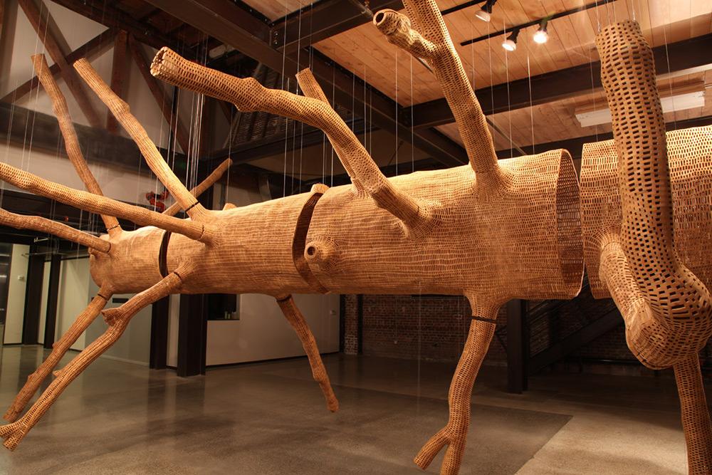 John Grade, Middle Fork tree sculpture