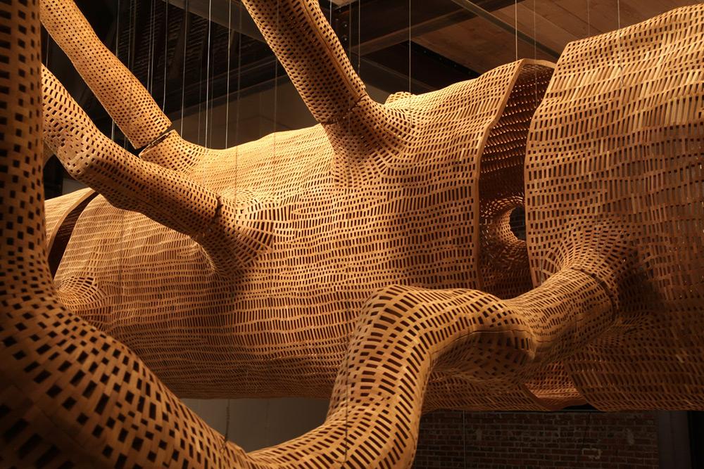 John Grade - tree sculpture