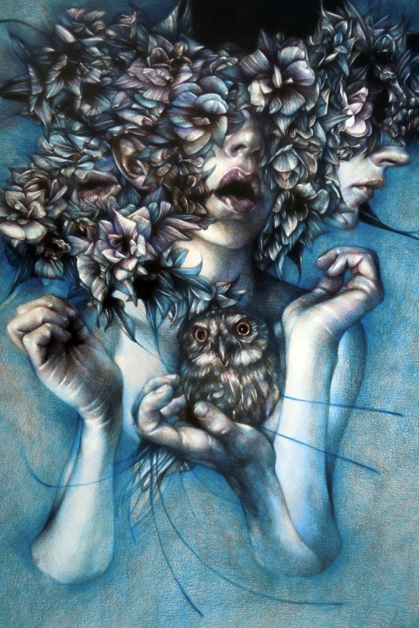 Marco Mazzoni Colored Pencil Drawings