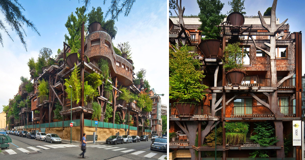 Vertical Forest An Urban Treehouse That Protect Residents
