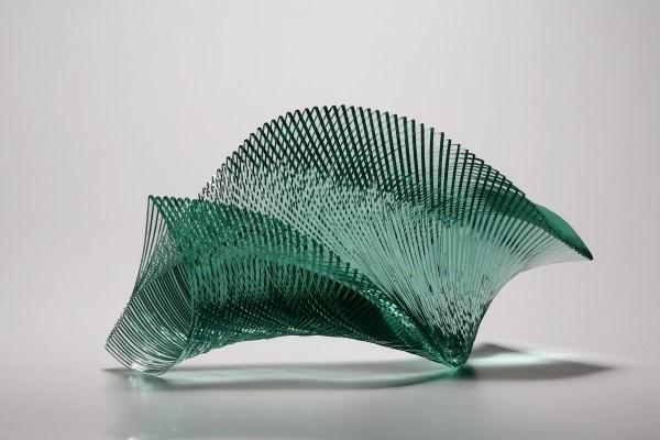 Artist Niyoko Ikuta Layers Of Laminated Sheet Glass