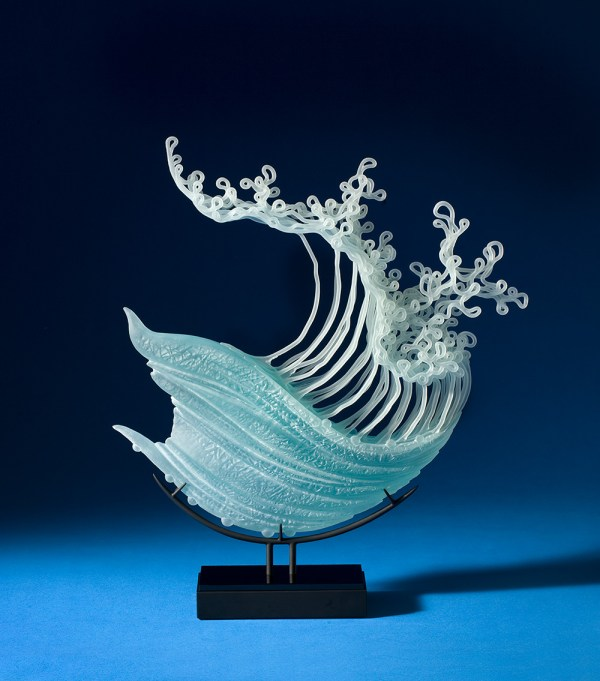 Layered Glass Sculptures Mimic Everyday Drama Of